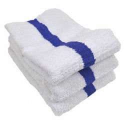 Pool Towels Blue Stripe 24x50 10.0 Lb