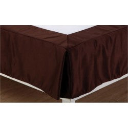 Bed Skirt Full XL ( Golden,Chocolate,Olive Green Maroon)