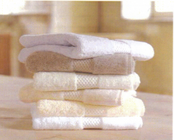 Bath Towels Shuttle less White 24x48 8.0 Lb