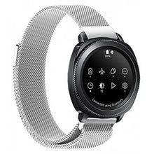 Load image into Gallery viewer, Samsung Gear S2 silver metallic strap