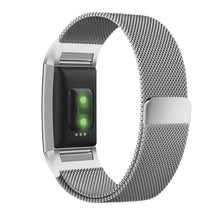 Load image into Gallery viewer, Fitbit Charge 2 Silver Metallic Replacement Strap