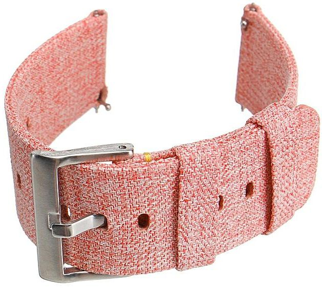 Fitbit Versa peach fabric band