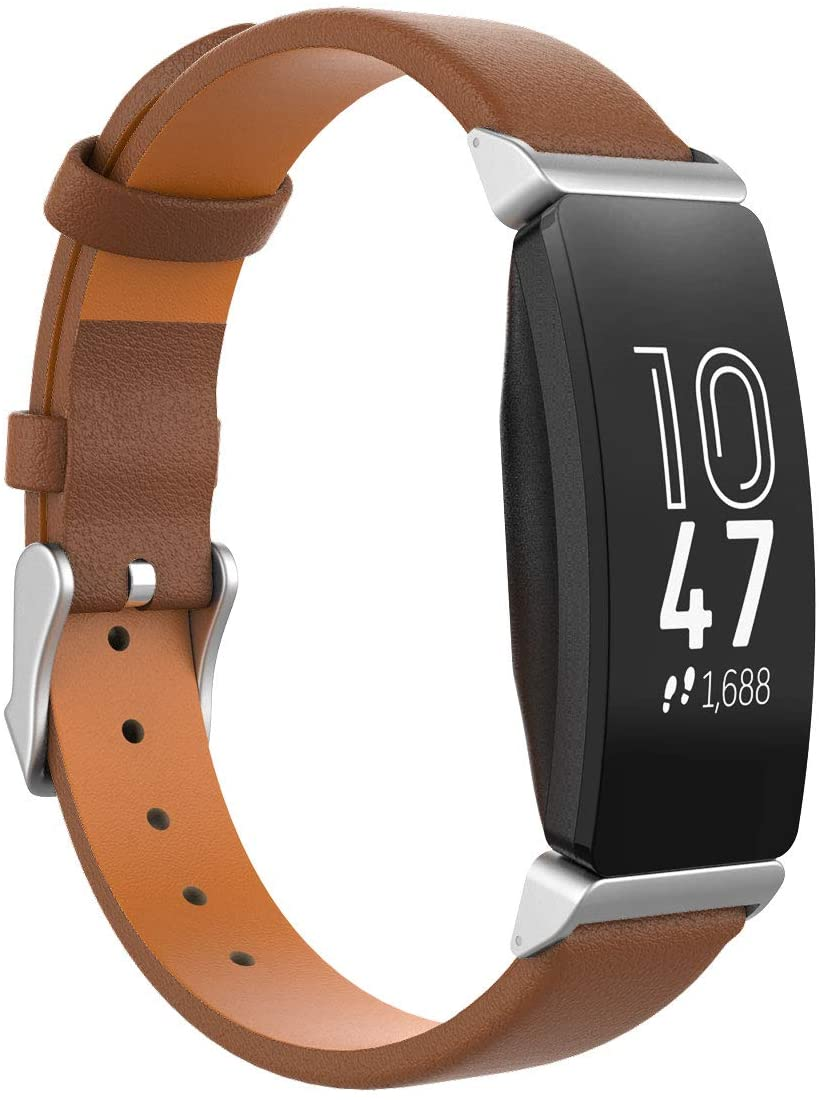 Fitbit Inspire HR genuine leather strap