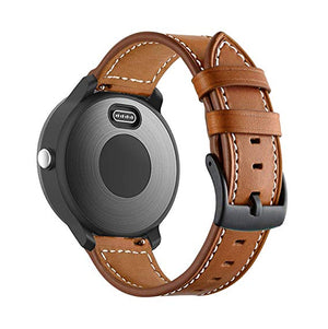 Garmin Vivoactive 3 tan genuine leather strap
