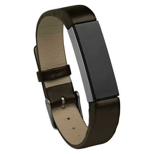 Fitbit Alta Hr Brown Genuine Leather Replacement Strap