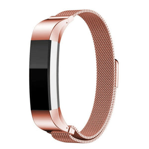 Fitbit Alta HR rose gold metallic strap