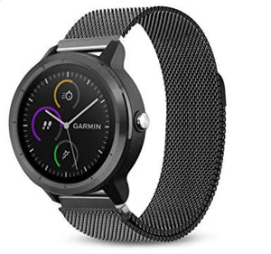 Garmin Vivoactive 3 black metallic strap