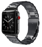 Apple watch series 4 black stainless steel link strap