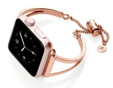Load image into Gallery viewer, Apple watch rose gold bangle