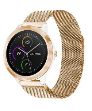 Garmin Vivoactive 3 rose gold metallic strap