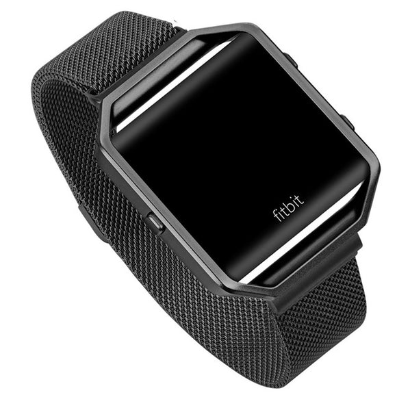 Fitbit Blaze Black Metallic Replacement Strap