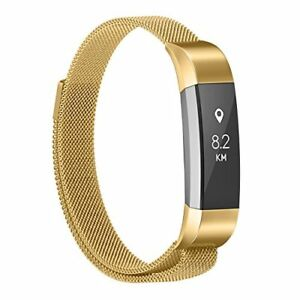 Fitbit Alta HR gold metallic strap