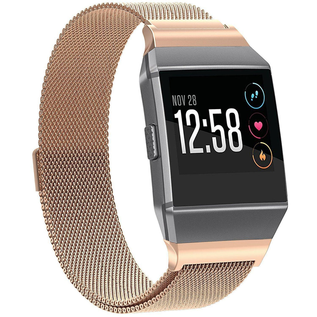 Fitbit Ionic Rose Gold Metallic Replacement Strap