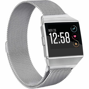 Fitbit Ionic Silver Metallic Replacement Strap