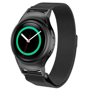 Samsung Gear S2 black metallic strap
