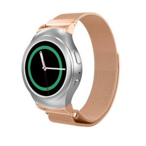 Samsung Gear S2 rose gold metallic strap
