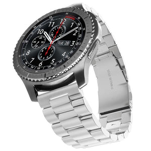 Samsung Gear S3 silver stainless steel link strap