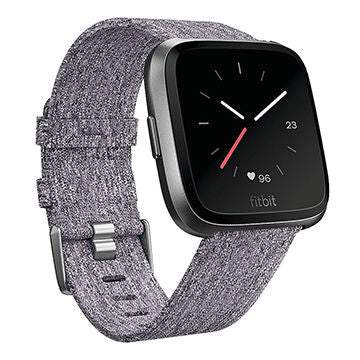 Fitbit Versa Grey Fabric Repacement Strap