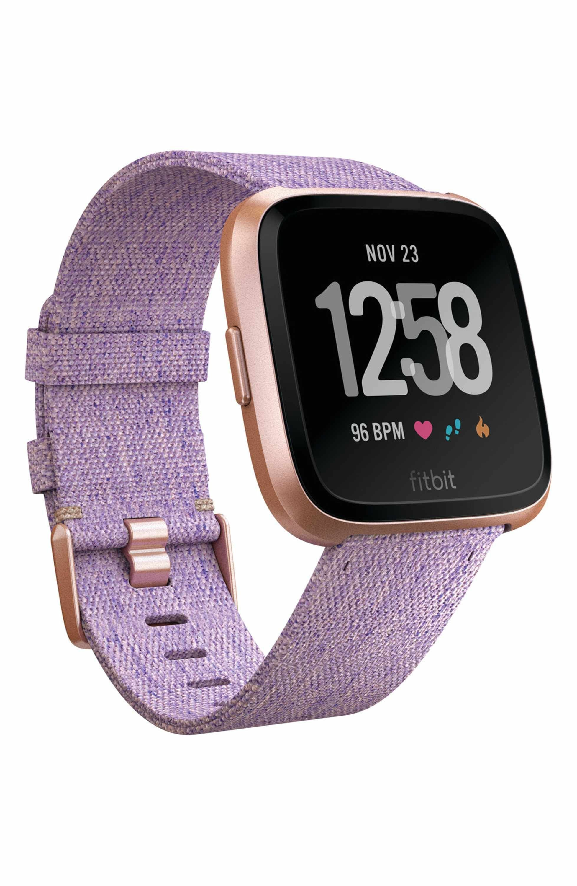 Fitbit Versa Purple Fabric Replacement Band