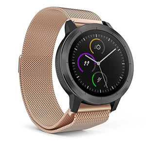 Garmin Vivoactive 3 Rose Gold Metallic Replacement Strap