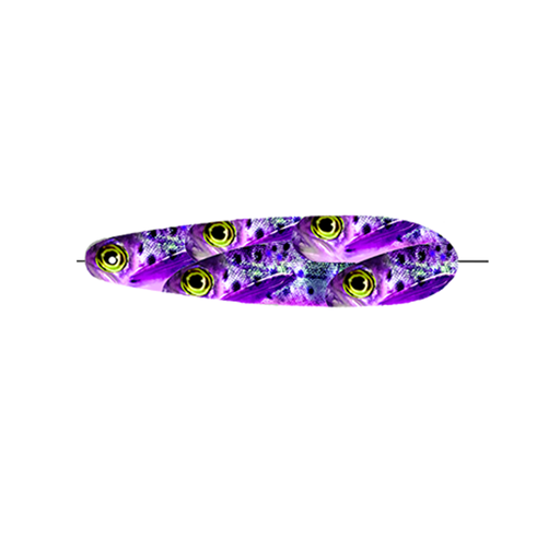 Purple Brown Trout Trolling Spoon