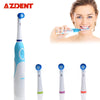 Waterproof Rotating Electric Toothbrush