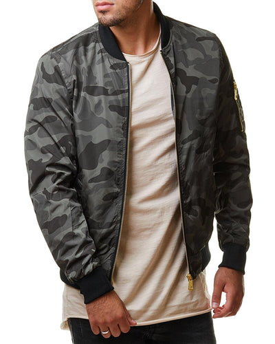Casual Men'S Quality Army Military Jacket