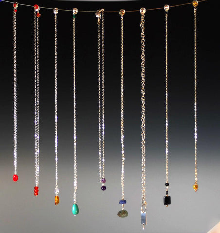 """drop"" necklace"