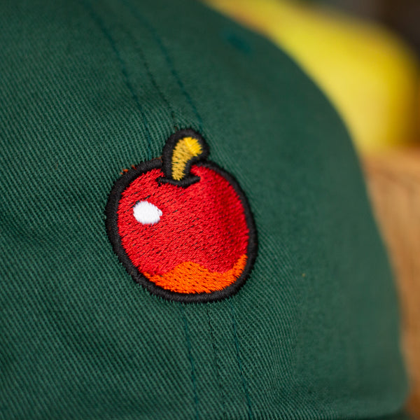 "Animal Crossing ""Inspired"" Apple Embroidered Hat"