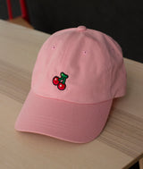 "Animal Crossing ""Inspired"" Cherry Embroidered Hat"