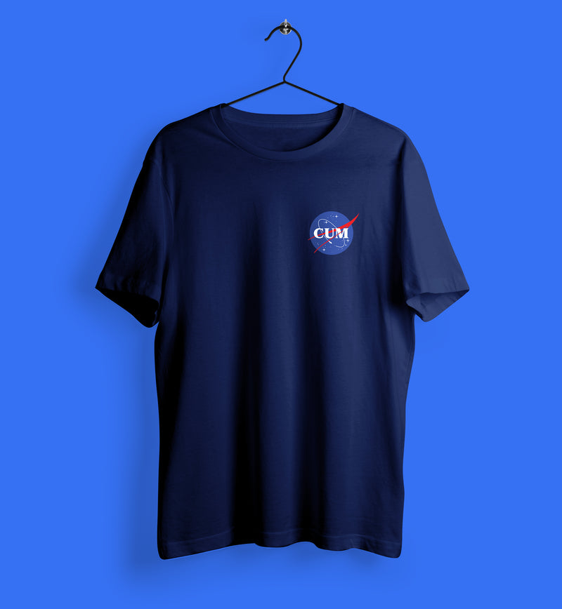 NASA Cum Badge T-Shirt