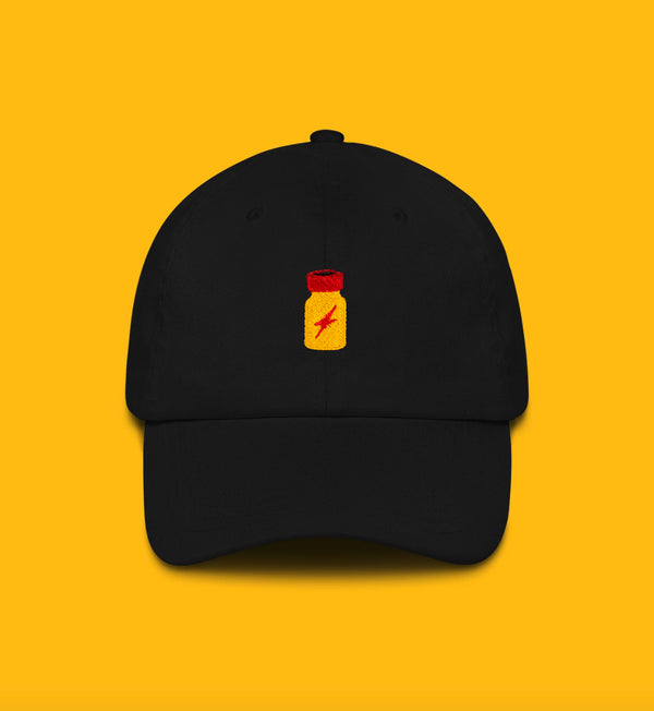 Poppers Embroidered Dad Hat