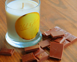 chocolatier milk chocolate soy candle