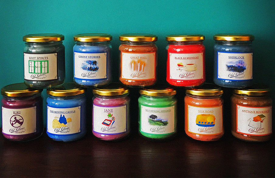 New and Improved Jar Candles!