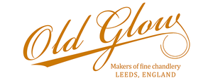 old glow scented candle logo