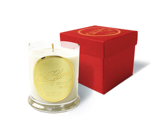 old glow scented candle luxury gift box