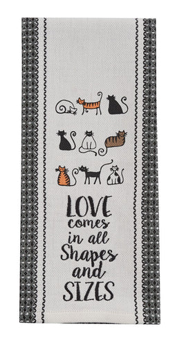Love Cats Dishtowel
