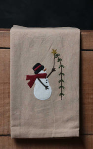 Pine Tree Wishes Dishtowel by HC by Raghu