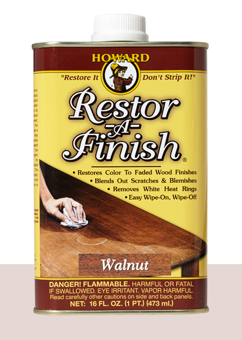 Restor-A-finish, Ebony Brown 8 oz.
