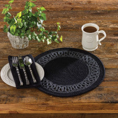 Circle Loop Braided Placemat