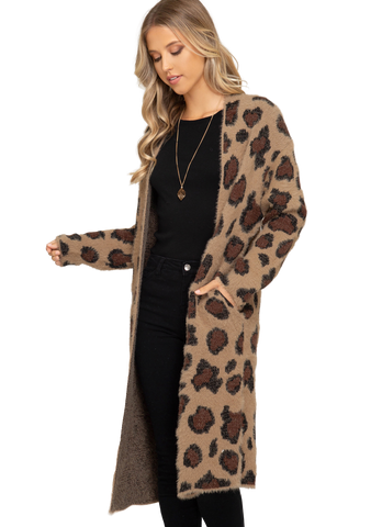 Friends Market Leopard Cardigan - Friends Market
