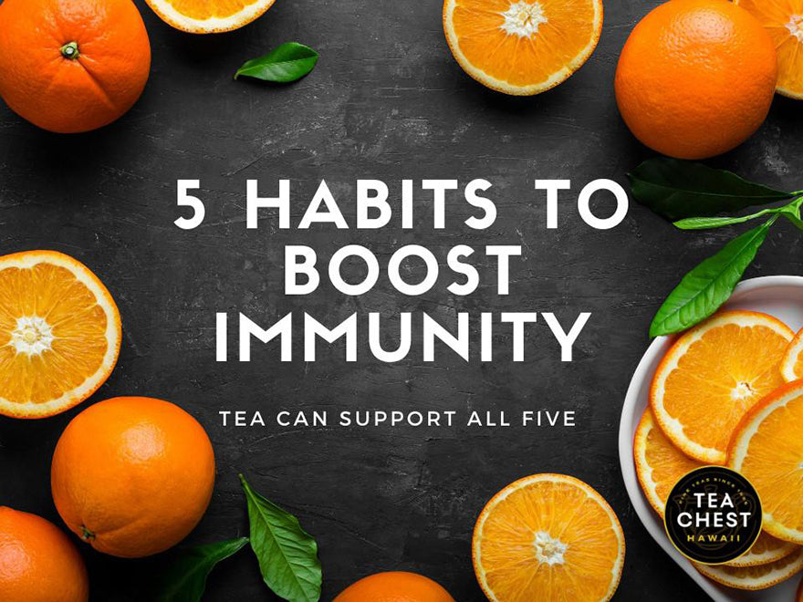 How Tea Can Help Maintain A Healthy Immune System