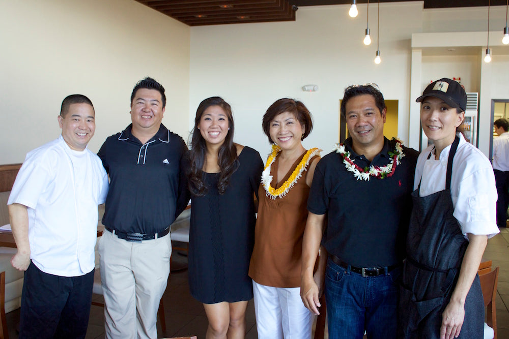 Tea Gathering in Hawaii with fine chefs