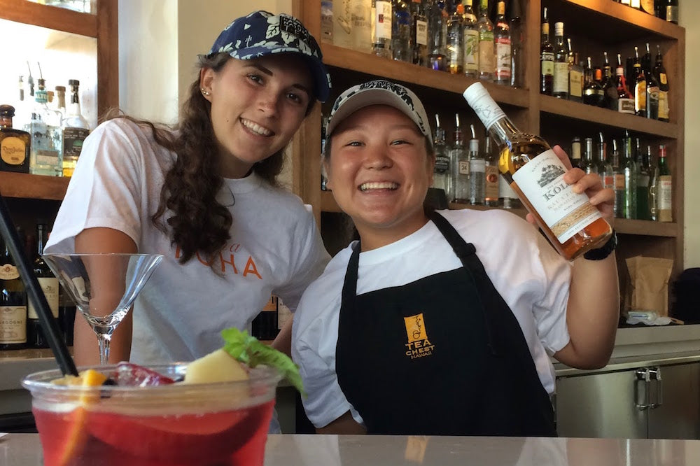 Tea Chest Hawaii's Communi-tea service includes internships for college students
