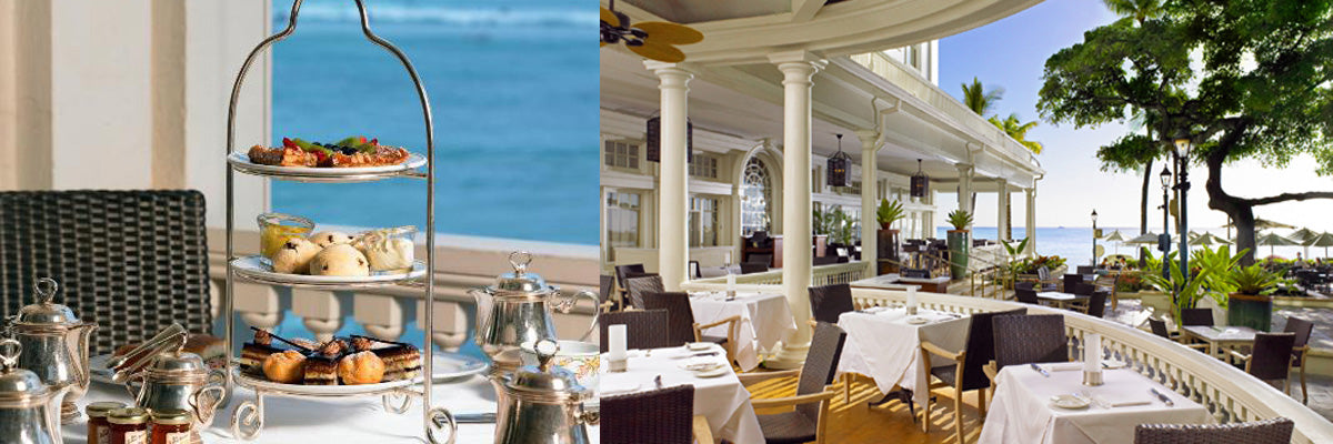 The Veranda at The Moana Surfrider Features Exclusive Blends From Tea Chest