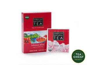 Hibiscus Bliss Tea Bags (8 count) - teachest.com