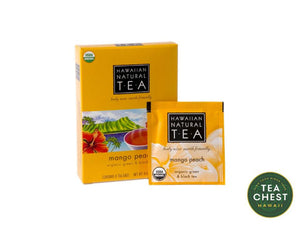 Mango Peach Tea Bags - Tea Chest Hawaii