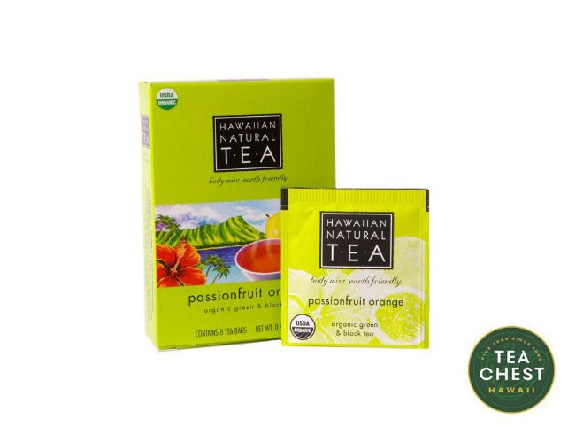 Passionfruit Orange Tea Bags (8 count) - teachest.com