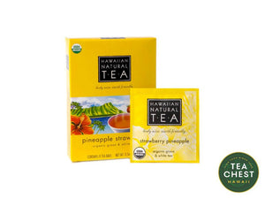 Pineapple Strawberry Tea Bags - Tea Chest Hawaii