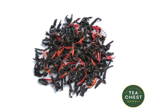 Loose Strawberry Hula Premium Tea by teachest.com